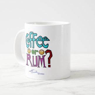 Coffee or RUM? Mug Extra Large Mugs