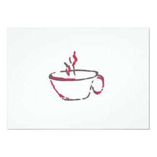 Coffee or Tea? 5x7 Paper Invitation Card