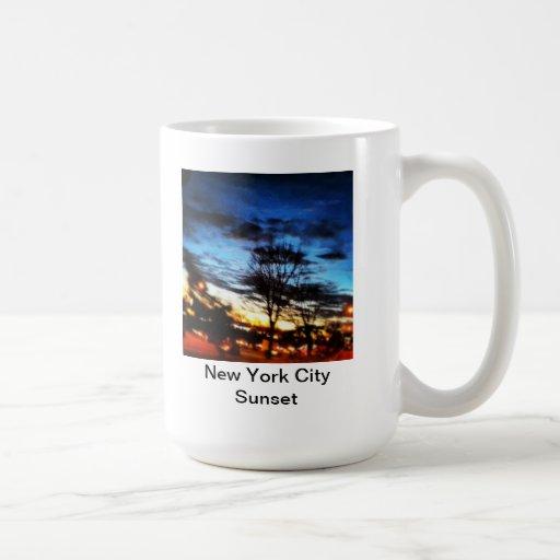 Coffee or Tea as the sun goes down Mugs