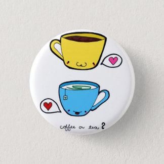 Coffee or Tea Button