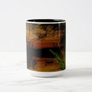 Coffee or Tea Mugs Sunset Lake View 13