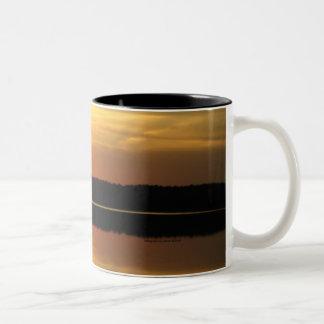 Coffee or Tea Mugs Sunset Lake View 3