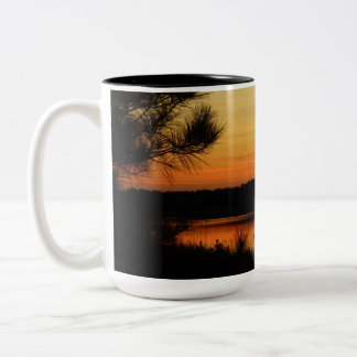 Coffee or Tea Mugs Sunset Lake View 6