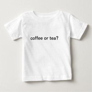 coffee or tea shirt