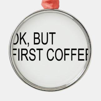 coffee christmas tree ornament