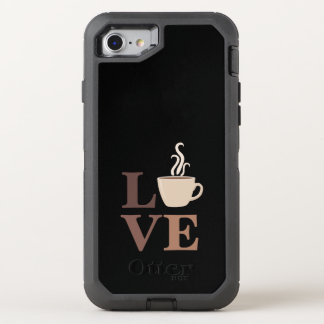 Coffee OtterBox Defender iPhone 8/7 Case