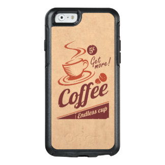 Coffee OtterBox iPhone 6/6s Case