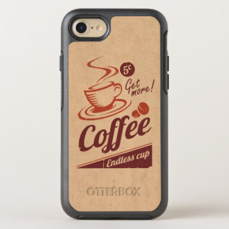 Coffee OtterBox Symmetry iPhone 7 Case
