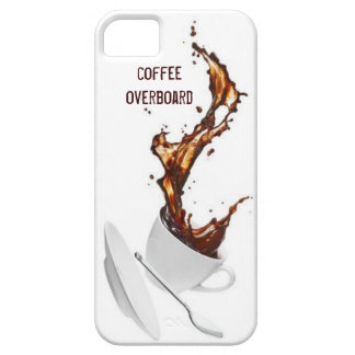Coffee Overboard iPhone 5 Case