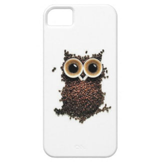 Coffee owl iPhone 5 case