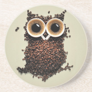 Coffee Owl Drink Coasters
