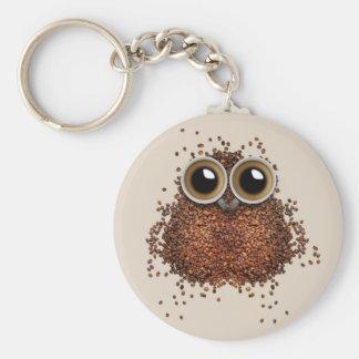 Coffee Owl key chains