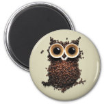 Coffee Owl Magnets
