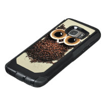 Coffee Owl OtterBox Samsung Galaxy S7 Case