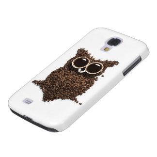 Coffee Owl Samsung Galaxy S4 Case