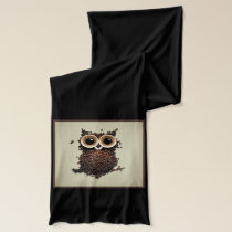 Coffee Owl Scarf