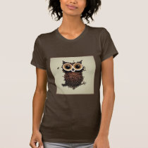 Coffee Owl T-Shirt