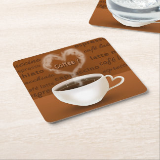 Coffee? - Paper Coaster