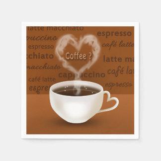 Coffee? - Paper Napkin
