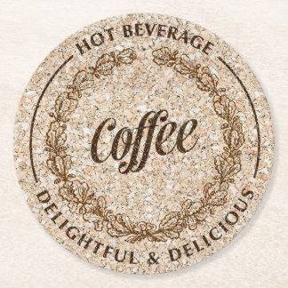 Coffee papers coasters