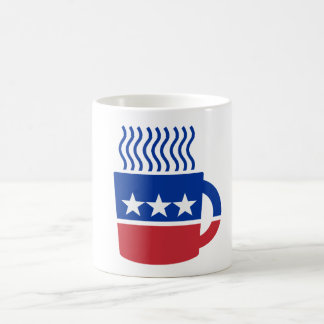 Coffee Party Logo Liberal Democrat Coffee Mug