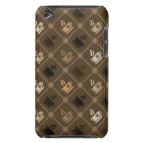 Coffee Pattern 5 Case-Mate iPod Touch Case