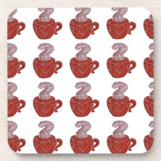 Coffee Pattern Coasters