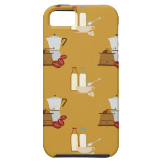 Coffee pattern iPhone SE/5/5s case