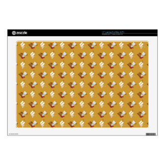 coffee pattern laptop skin