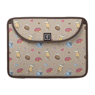 Coffee pattern sleeve for MacBook pro