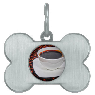 Coffee Pet Tag