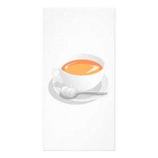 Coffee Photo Card Template