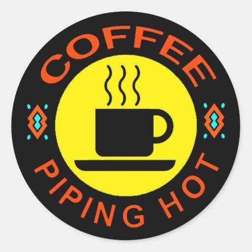 COFFEE - PIPING HOT STICKER