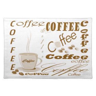 Coffee place Matt Placemats