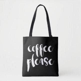 Coffee Please Tote Bag