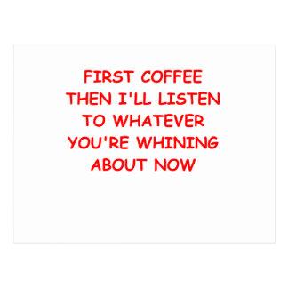 COFFEE.png Tarjetas Postales