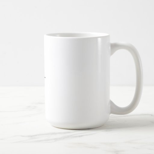 Coffee poem mug