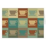 Coffee Pop Art Greeting Cards