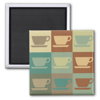 Coffee Pop Art Fridge Magnet
