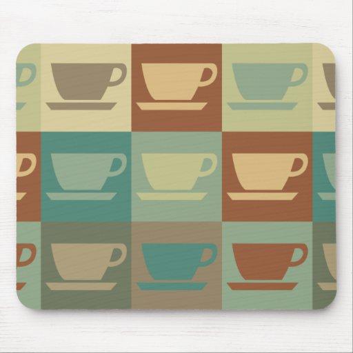 Coffee Pop Art Mouse Pad