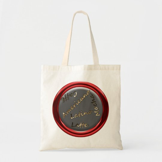 Coffee Porthole Shopping Bag
