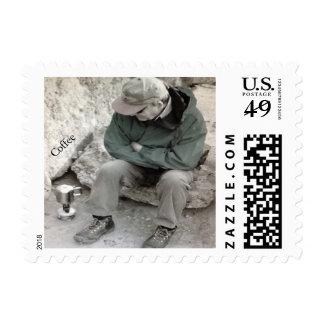 Coffee Postage Stamp