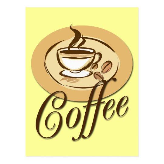 COFFEE POSTCARD