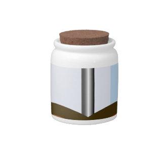 Coffee Pot Candy Jars