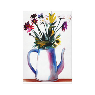 Coffee Pot Canvas Print