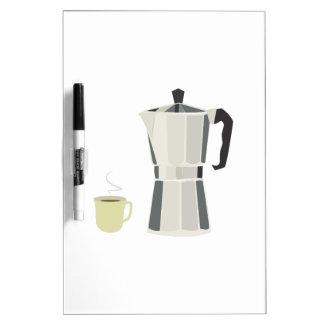 Coffee Pot Dry-Erase Whiteboard