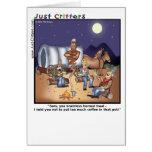 Coffee Pot Genie Greeting Cards