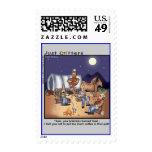 Coffee Pot Genie Postage Stamps