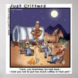 Coffee Pot Genie Print