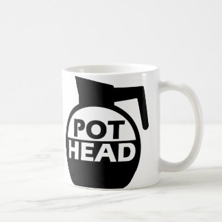 Coffee Pot Head Funny Mug Caffeine